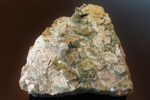 Big 2kg Diopside from Bumansfjord, Seiland, Norway