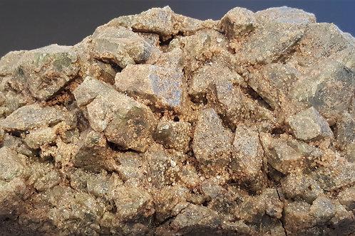 2,5 kg Diopside/Grossular from Seiland, Finnmark, Norway