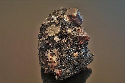 65 mm beautiful Zircons in Biotite from Seiland