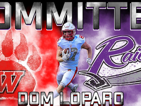 Dominic Loparo to play at Mount Union