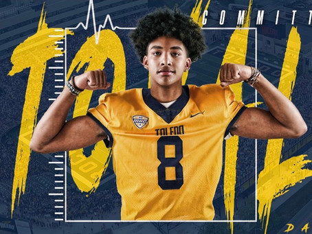 Dalen Stovall commits to Toledo!