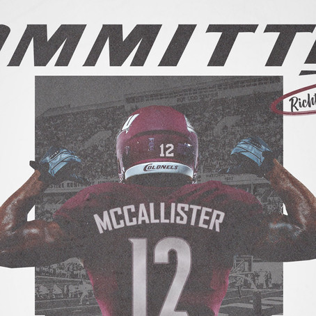 Richtell McCallister commits to Eastern Kentucky!