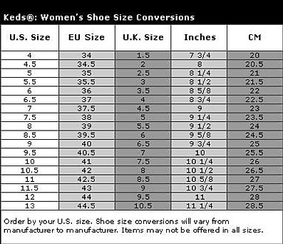 keds size chart in cm: Custom converse shoes united gtdshoes faq