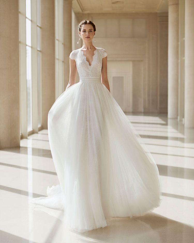 Vestido de Noiva fluido - Mazzi Assessoria