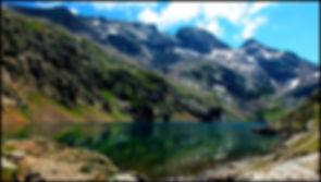 Randonée lac du vallon plan col ski de fond lac fourchu grand armet col d'ornon
