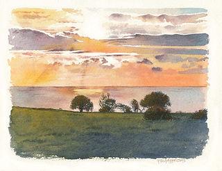 Sunset Birling Gap