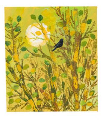 Blackbird in Spring
