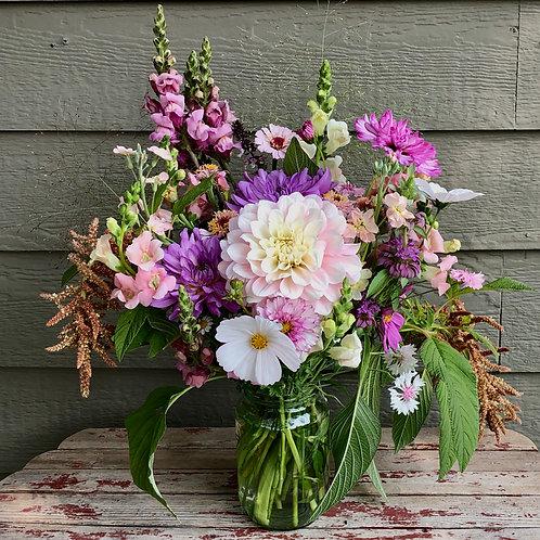 2021 Season CSA designed bouquet