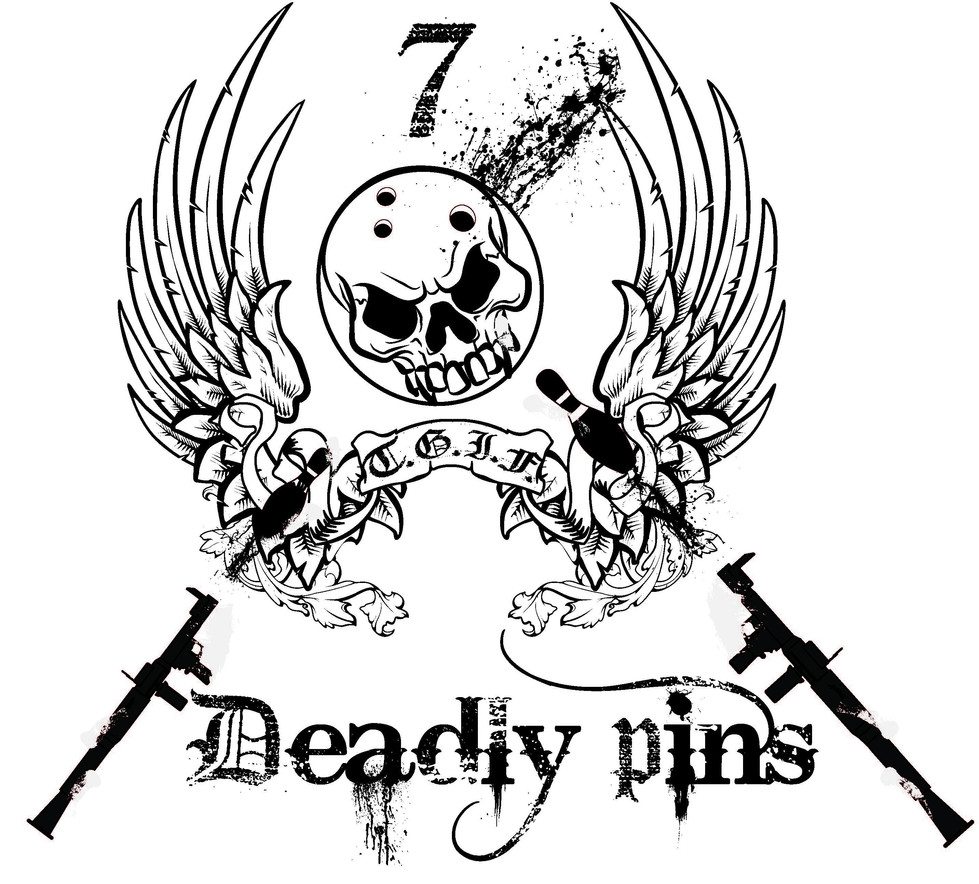 """7 Deadly Pins """"Affliction Parady"""""""