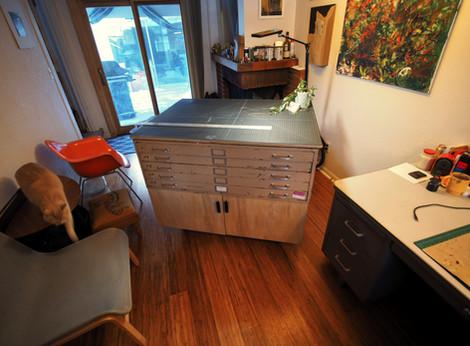 Flat File Cabinet