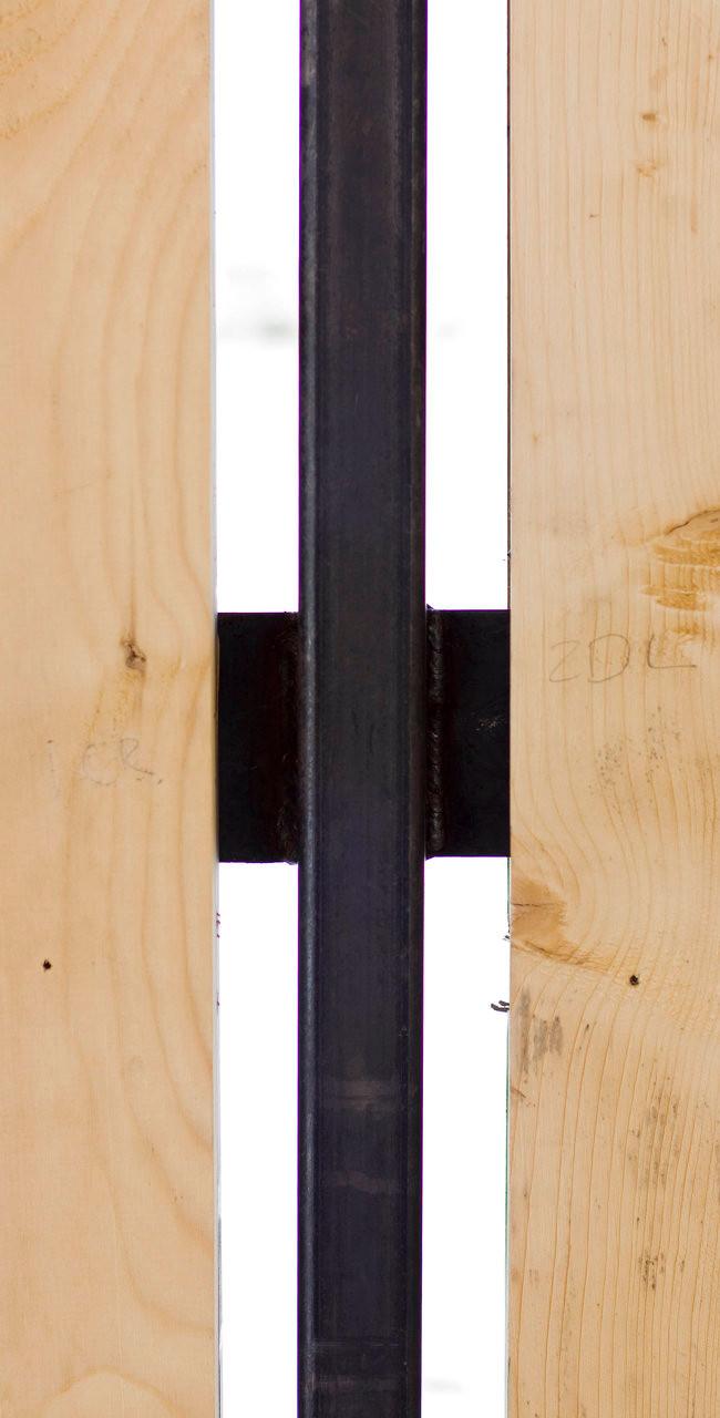 wood slat detail