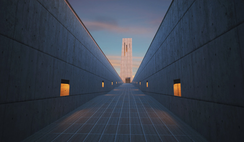 Path to Cremation Tower