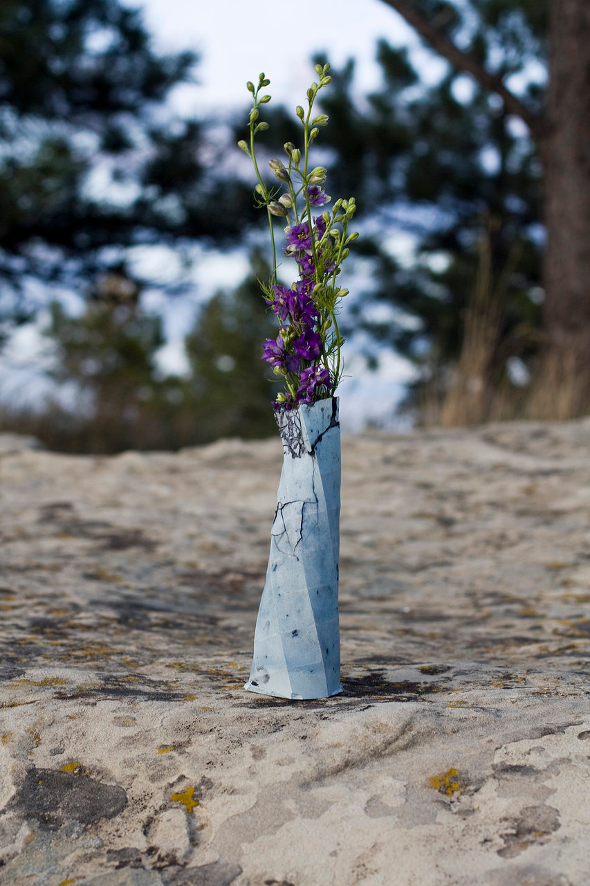 Flower Filled (not blue thistle)