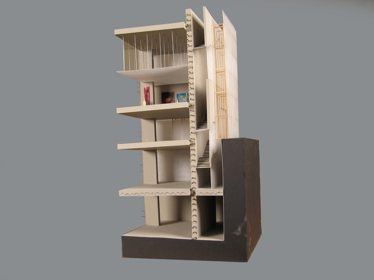 Structures Model Kuntz Haus