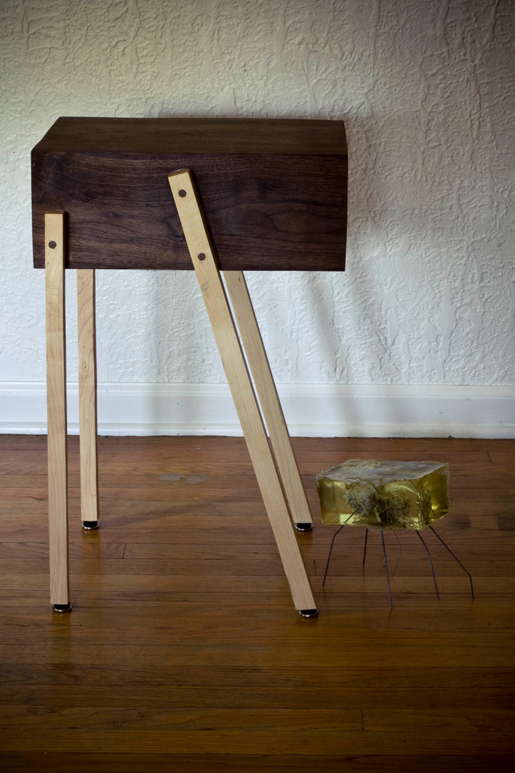 End Table Side Profile
