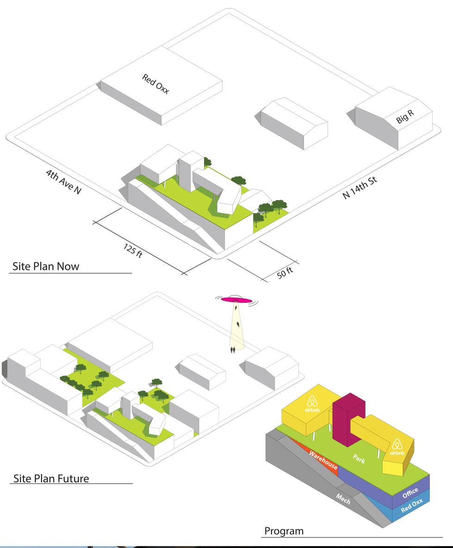 Site Plan & Programing Diagrams