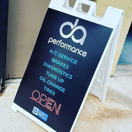 DA Performance! Full Service Facility! O