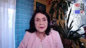 Dolores Huerta Endorses Prop 17
