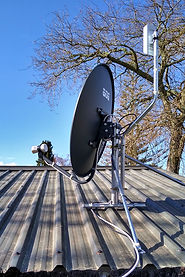 Wireless link & Freeview satellite dish install