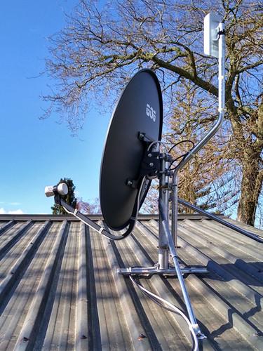 Station antennae...