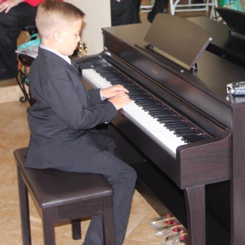 Performing in 1st Recital