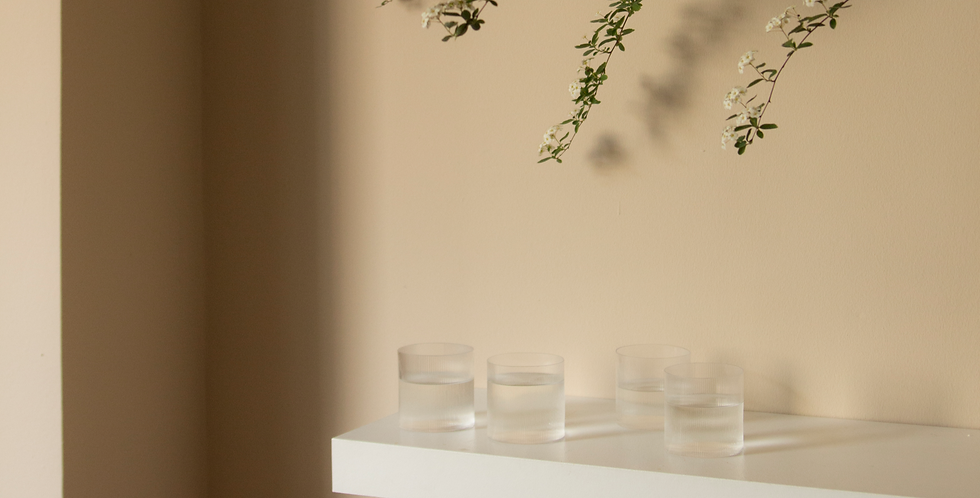CIRCLE GLASSES | Set of 4