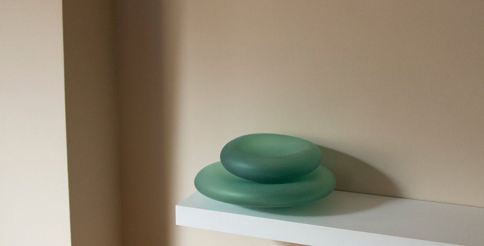 SEA GLASS    |   BOWLS   |    TEAL