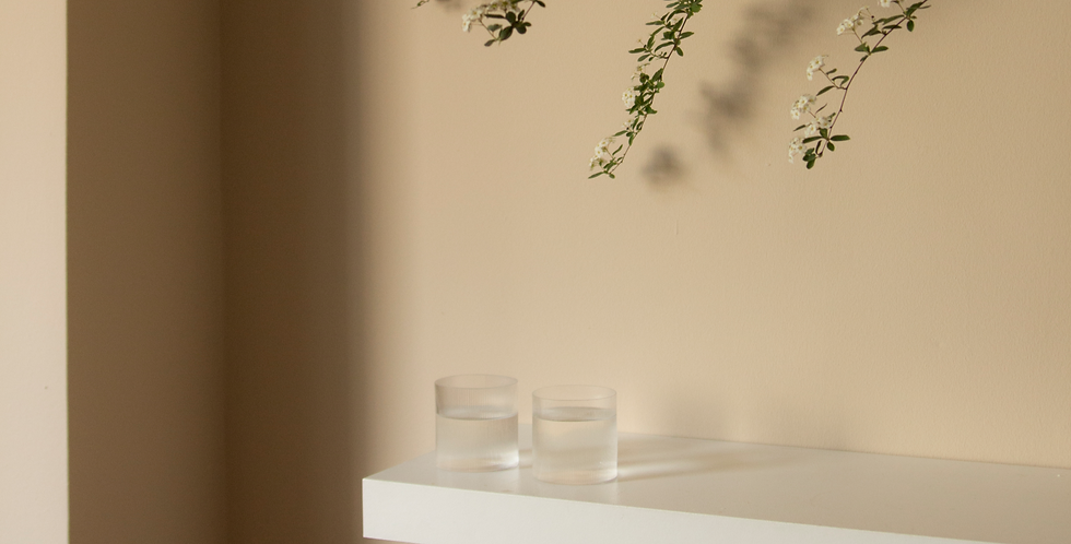 CIRCLE GLASSES | Set of 2