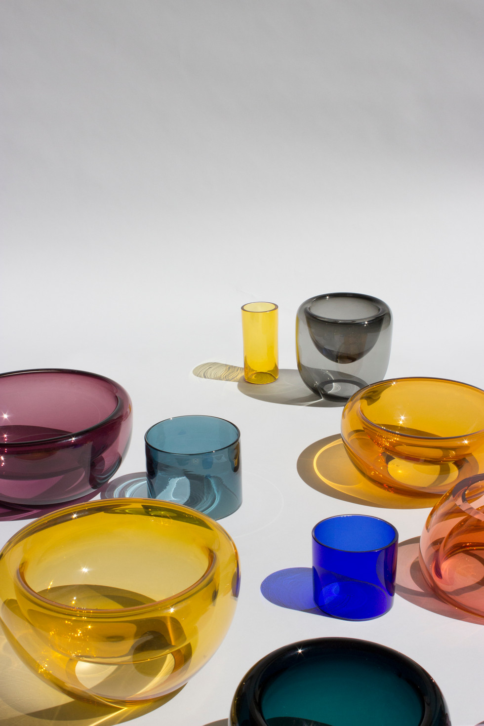 SPHERE GLASS BOWLS  by MILENA KLING for STUDIO HAUSEN