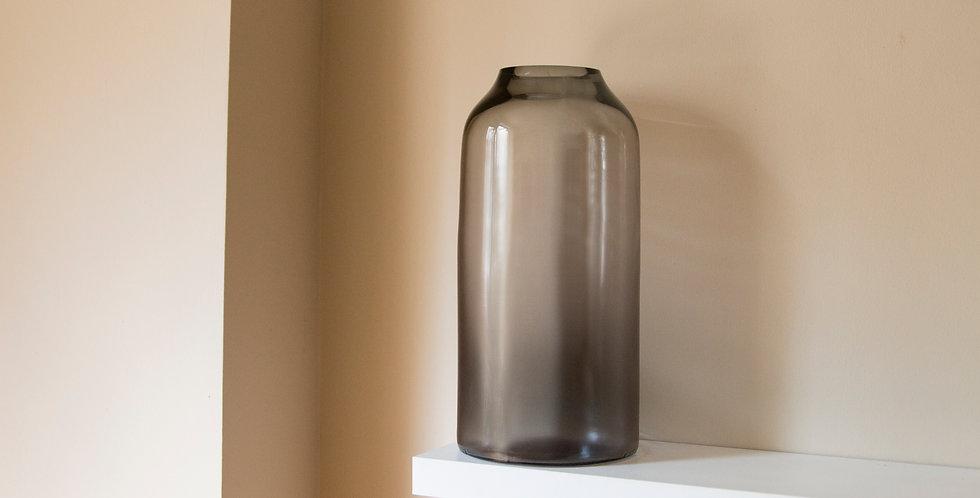 RAW-VASE-by-STUDIO-MILENA-KLING-mouthblown-glass-STONE-GREY