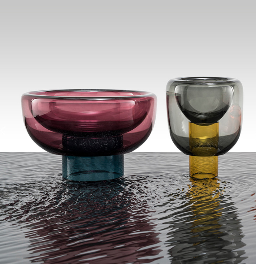 SPHERE GLASS BOWLS  by MILENA KLING for STUDIO HAUSEN