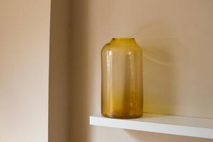 RAW VASE | STUDIO MILENA KLING - large - amber