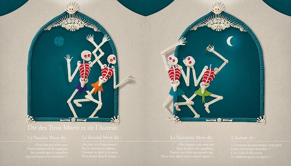 Macabre Dance - L'Atelier du Poisson Soluble - Bonerba.com