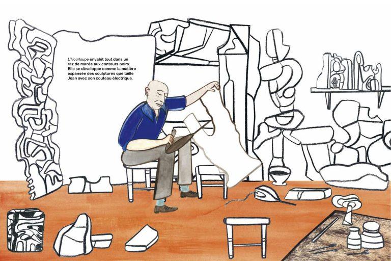 In Jean Dubuffet's Workshop
