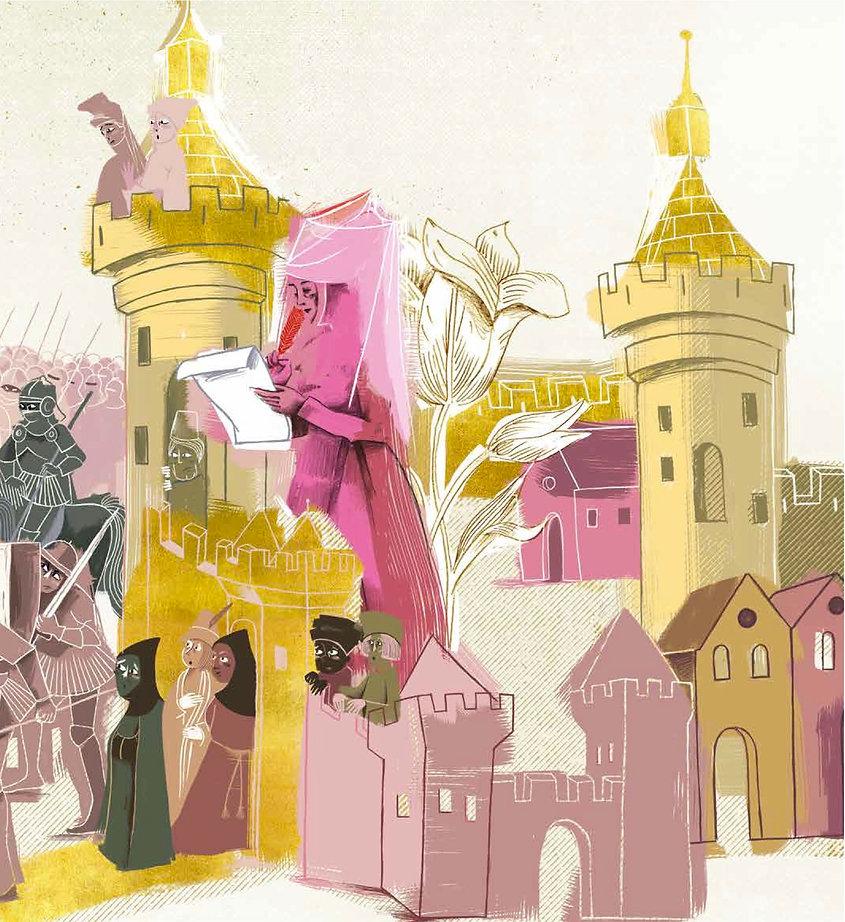 Christine de Pizan, the Clear-Sighted - A pas de loups- Bonerba.com