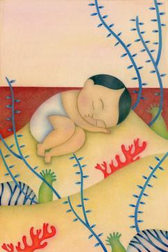 Monica Hernandez illustrations-il riposo