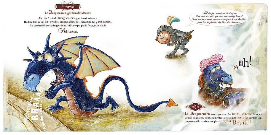 Que font les dragons quand ils ne crache