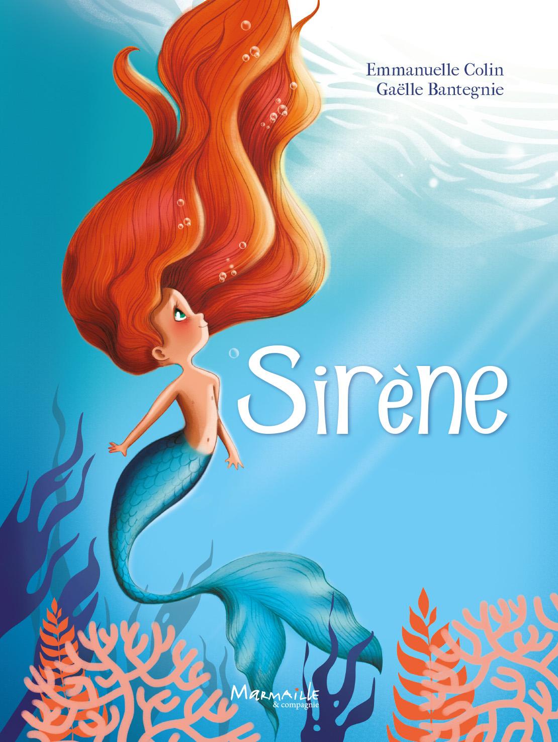 Surfer Mermaid