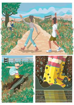 Monica Hernandez illustrations-macondo