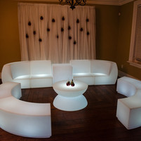Love Affair: LED Couch Lounge Set