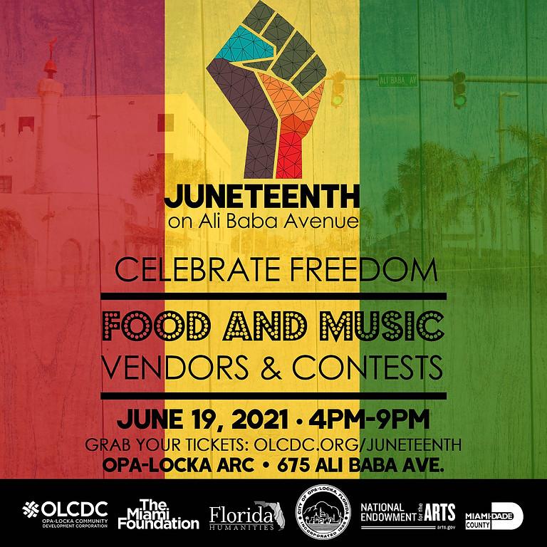Juneteenth on Ali Baba Ave. Festival
