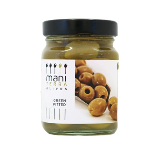 Olives vertes Bio farcies à l'ail