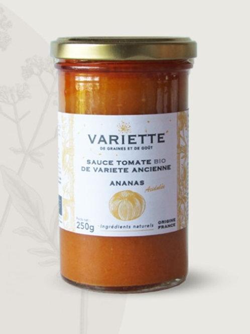 Sauce tomate BIO - Tomate ananas