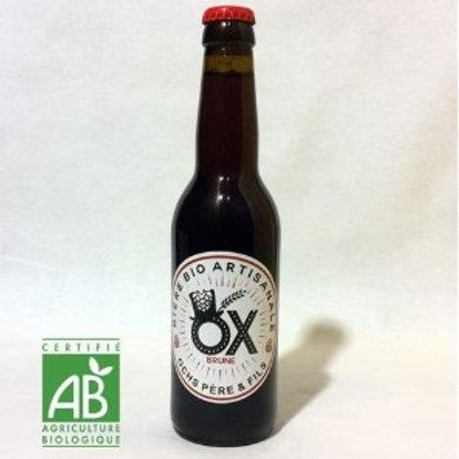 Bière Brune Bio - Brasserie OX