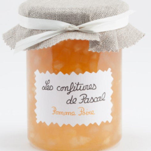 Confiture artisanale de pomme-poire
