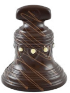 Cloche au chocolat noir Bio - 400g