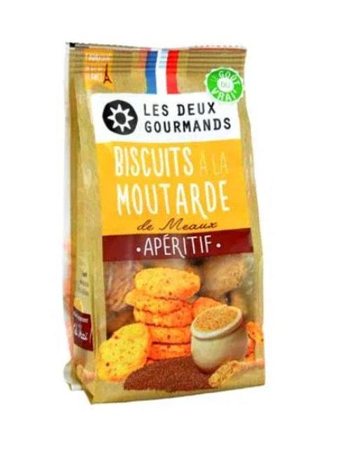 Biscuits à la Moutarde de Meaux