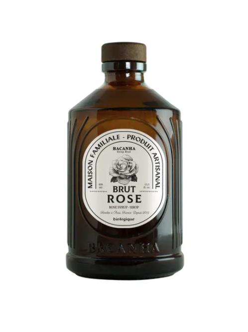 Sirop brut de Rose Bio