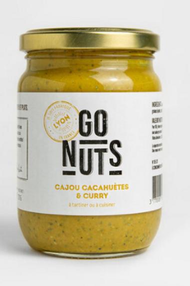 Tartinable Cajou, cacahuètes & curry Bio
