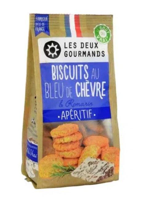 Biscuits au Bleu de Chèvre & Romarin